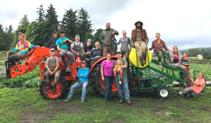The 2019 Red Dog crew. Uploaded by Red Dog Farm